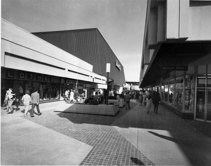 Shoppers at Landmark