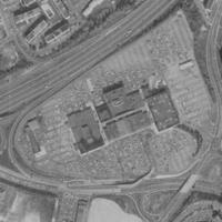 Aerial image of original Landmark Center