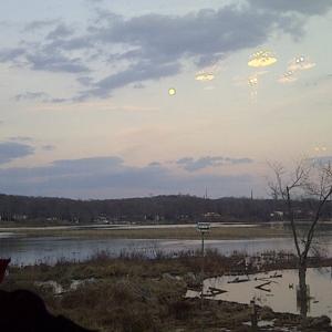 Overlooking Quantico Creek